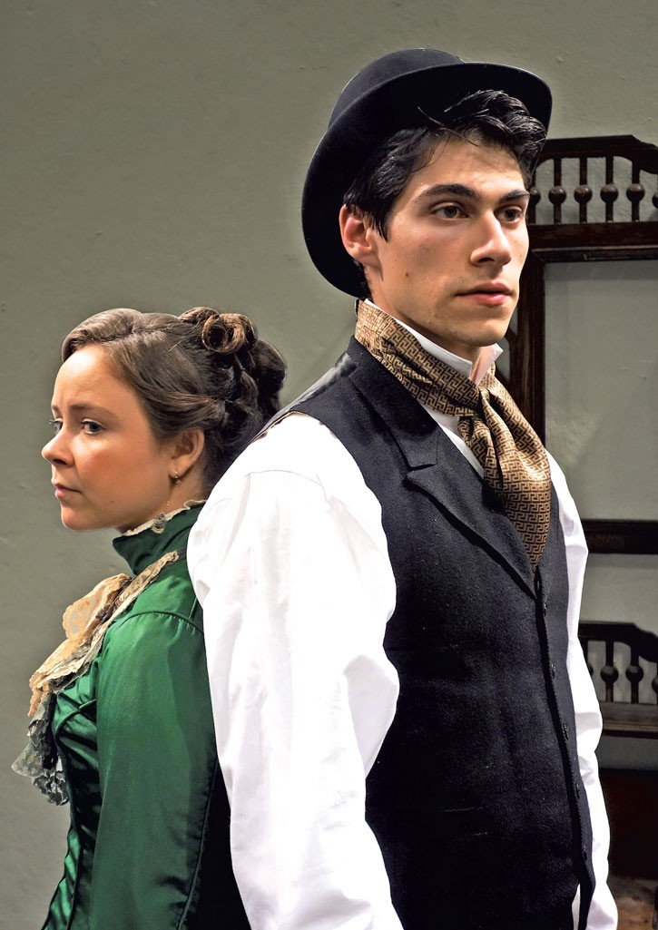 Emma Orme and Max Samuels - COURTESY OF DARTMOUTH DEPARTMENT OF THEATER