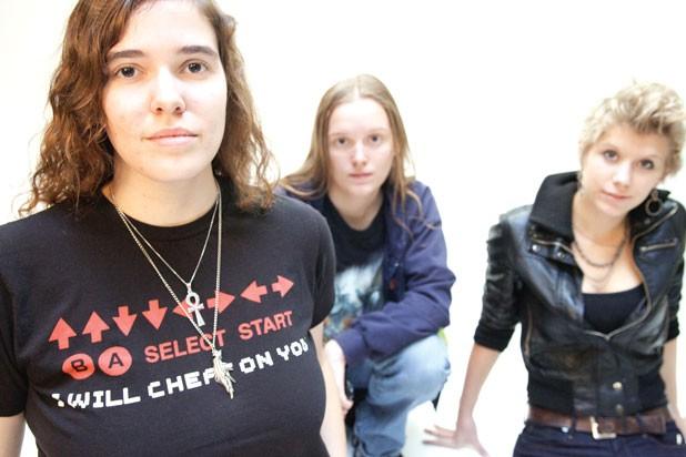 Erin Trzcinski, Lena Wagner and Marguerite Dibble - MATTHEW THORSEN