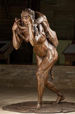 Sculpture by John Gurche - CHIP CLARK, SMITHSONIAN'S INSTITUTION