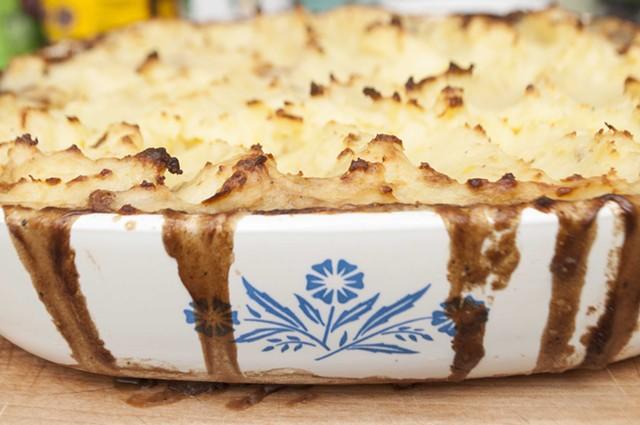 This is not your grandma's shepherd's pie. - HANNAH PALMER EGAN