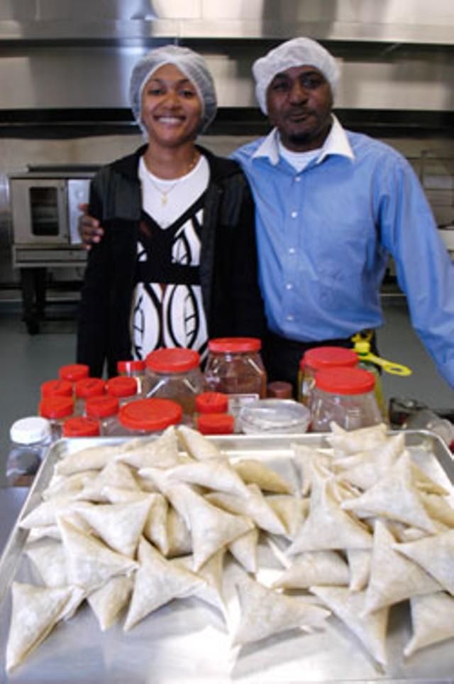 Fatu Kankolongo and Fuad Ndibalema - MATTHEW THORSEN