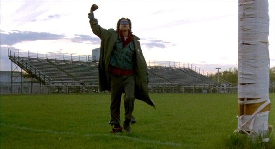Final scene in The Breakfast Club