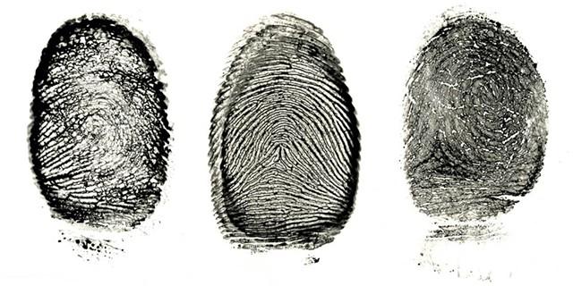 """Fingerprint Series"" by Jordan Douglas"