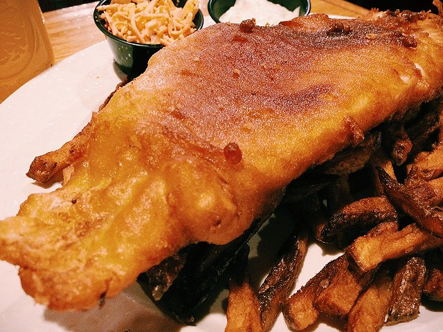 Fish and chips - CORIN HIRSCH