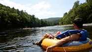 Floating Down the Lazy Hudson River