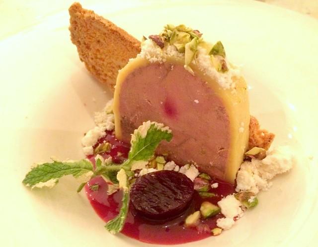 Foie gras torchon, Junction, Essex Junction - ALICE LEVITT