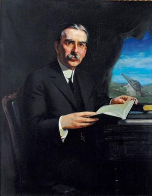 Former Vermont governor James Hartness - COURTESY OF DAVID SCHUTZ