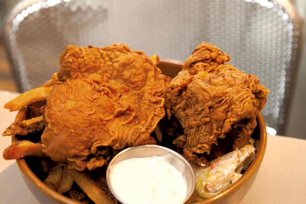 Fried chicken - MATTHEW THORSEN