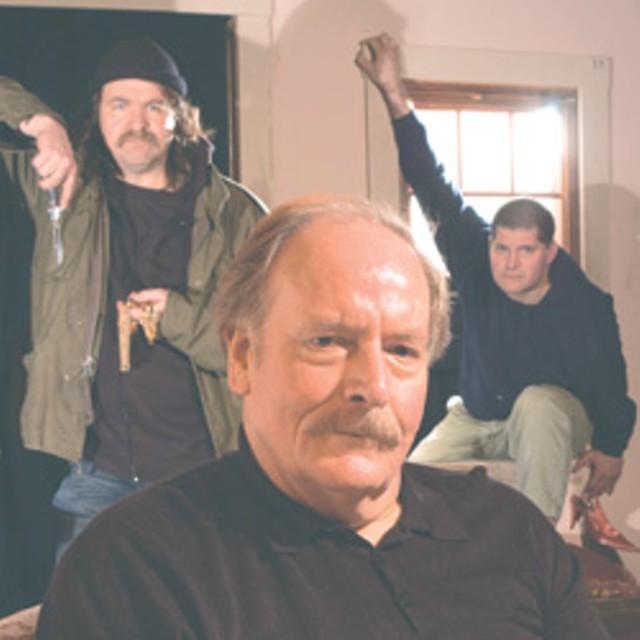 From left: Dennis McSorley, Aaron Masi and John D. Alexander - MATTHEW THORSEN