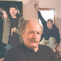 From left: Dennis McSorley, Aaron Masi and John D. Alexander - MATTHEW THORSEN