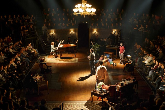 Fun Home at Circle in the Square Theatre - COURTESY OF JOAN MARCUS