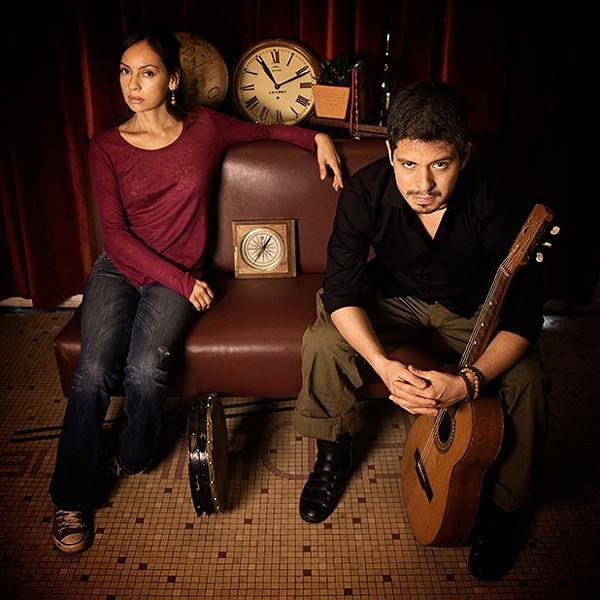 Gabriela Quintero and Rodrigo Sánchez