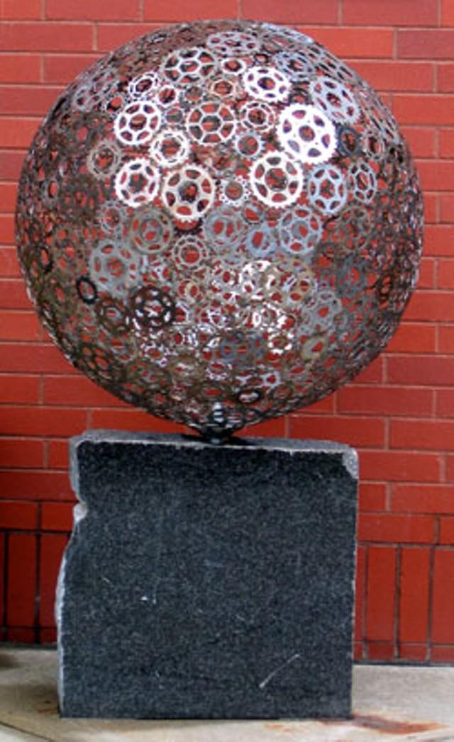 """""""Gear Sphere,"""" by James Irving-Westerman"""
