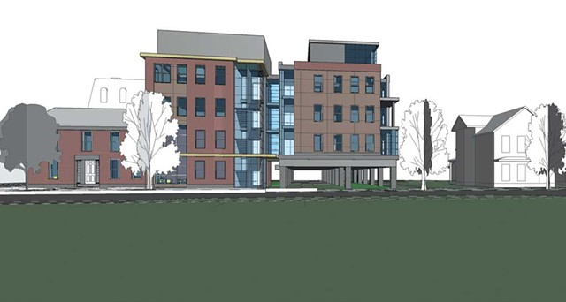George Street Lofts, plans