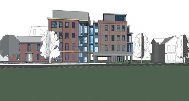 George Street Lofts, plans