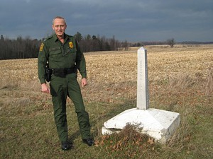 George Woodward, Border Patrol Agent