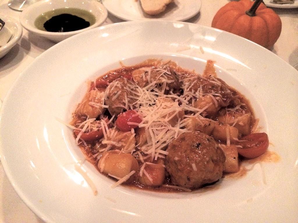 Gnocchi with rabbit meatballs - ALICE LEVITT