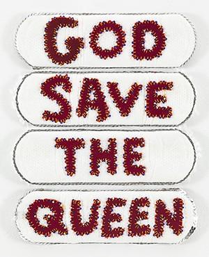 "COURTESY OF PLATTSBURGH STATE ART MUSEUM - ""God Save the Queen"" by LaThoriel Badenhausen"