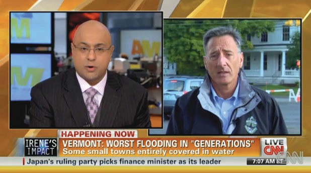 Gov. Peter Shumlin on CNN