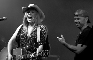 Grace Potter with Kenny Chesney