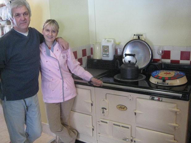 Graham Hewison and Maxine Longmuir