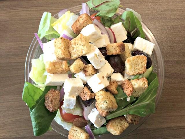 Greek salad - ALICE LEVITT