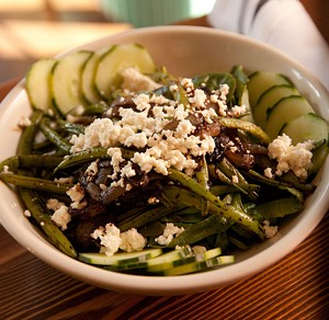 MATTHEW THORSEN - Green bean salad