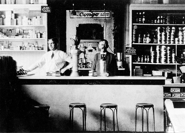H.A. Hawley store interior - COURTESY OF CAMBRIDGE HISTORICAL SOCIETY