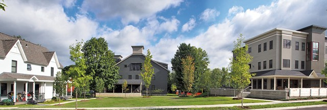 Harrington Village - COURTESY OF DUNCAN WISNIEWSKI ARCHITECTURE