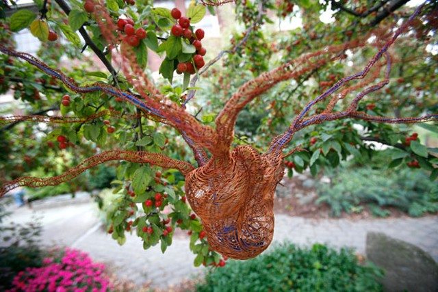 """Heart Nest"" by Rebecca Schwarz - JORDAN SILVERMAN"
