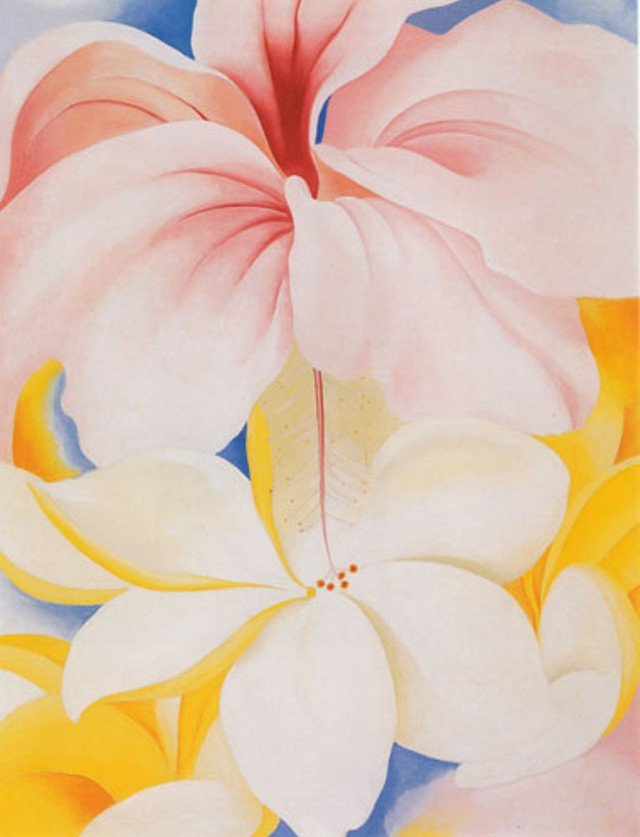 Hibiscus with Plumeria, 1939, Private Collection, Washington, D.C.