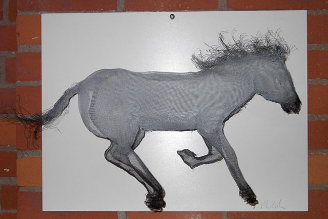 """""""Horse to Canter"""" by Peter Robinson-Smith"""