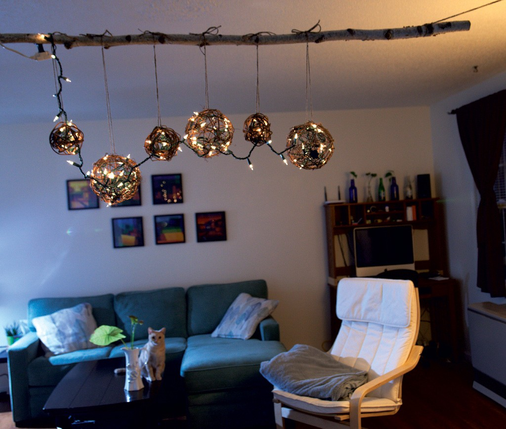How To Make A Chandelier With Christmas Lights By Carolyn Fox Click Enlarge MATTHEW THORSEN Matthew Thorsen