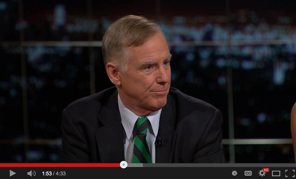 """Howard Dean on """"Real Time with Bill Maher"""" - SCREENGRAB"""