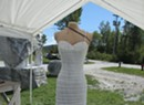 In West Rutland, a Pnina Tornai Dress Is Sculpted in Marble