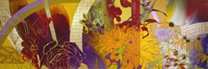 "COURTESY OF BMAC - ""Indian Summer - Homage to Bonnard"" by Robert Kushner"