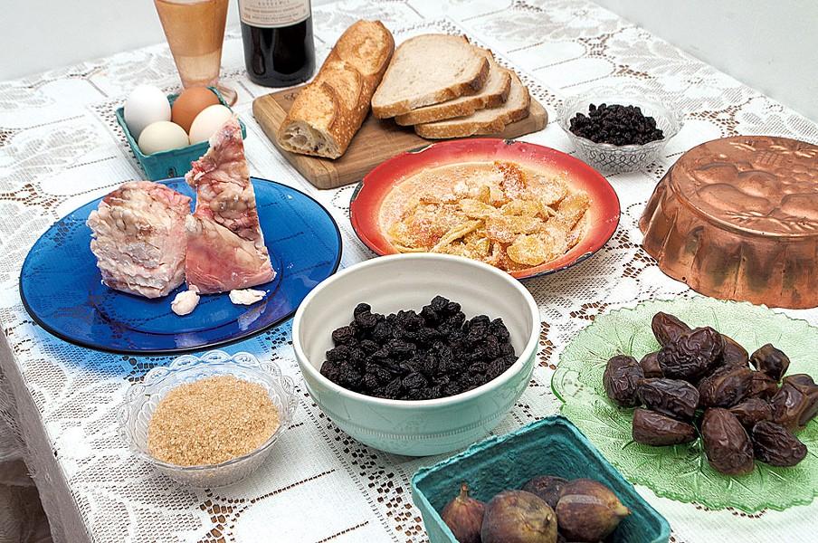 Ingredients for plum pudding - HANNAH PALMER EGAN