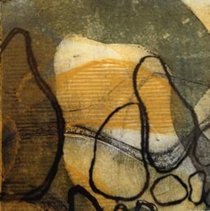 "COURTESY OF TWO RIVERS PRINTMAKING STUDIO - ""Interplay II"" by Lois Beatty"