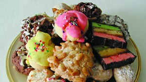 Italian Christmas cookie plate, Sweet Simone's