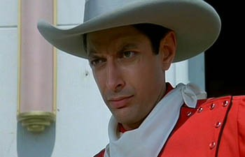 """It's """"weird"""" to put a cowboy hat on Jeff Goldblum. - MGM PICTURES"""