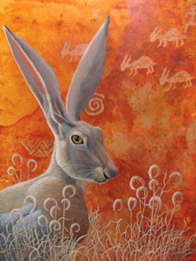 """Jackrabbit"" by Liza Myers"