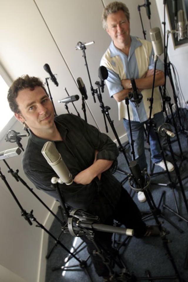 Jacob Edgar and Chuck Eller - JORDAN SILVERMAN
