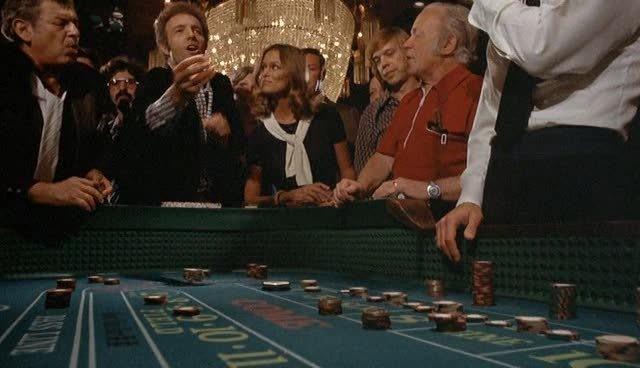 James Caan shooting craps in The Gambler - PARAMOUNT PICTURES