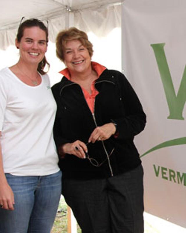 Jane Lindholm and Lynne Rossetto Kasper