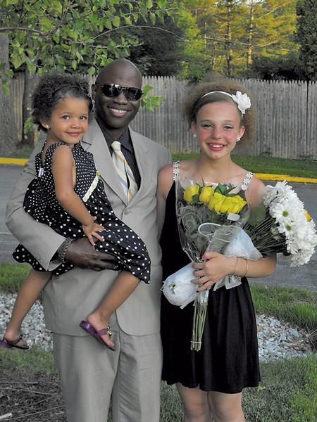 Jason with daughters Malia and Arianna - COURTESY OF JASON ALLEN'S FAMILY