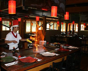 Jason Zheng at Sushi Yoshi