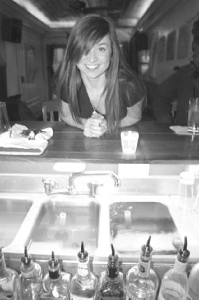 Jessica Bridge of 1/2 Lounge - MATTHEW THORSEN