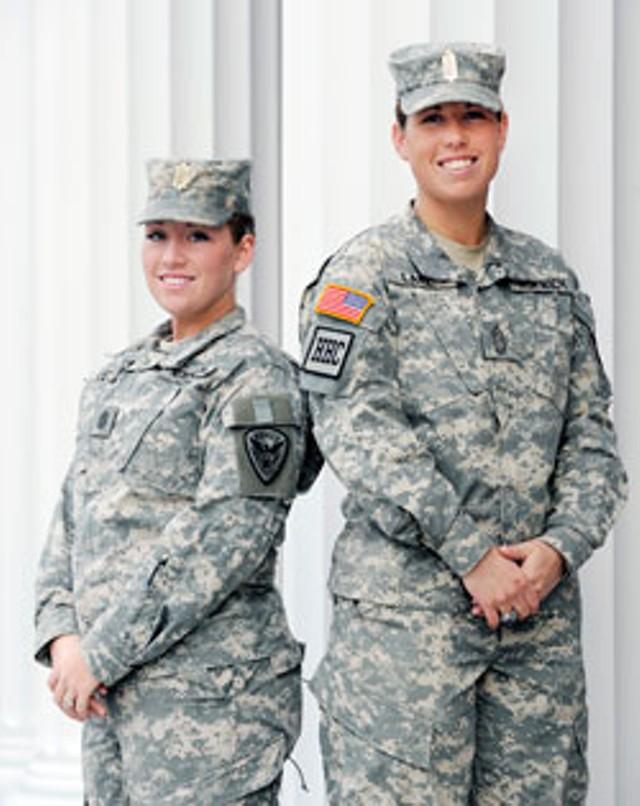 Jessica Corl and Alison Lanz