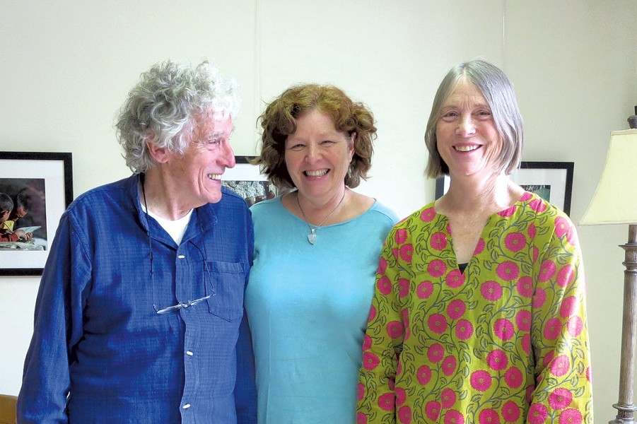 Jim Stapleton, Cynthia Huard and Diana Bigelow