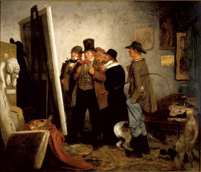 "Johannes Adam Simon Oertel,  ""Country Connoisseurs,"" 1855"